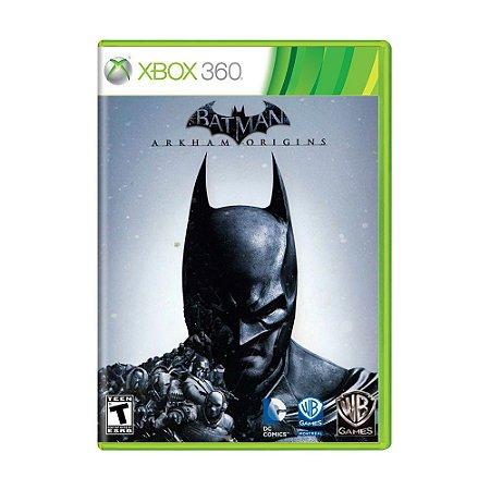 Jogo Batman: Arkham Origins - Xbox 360