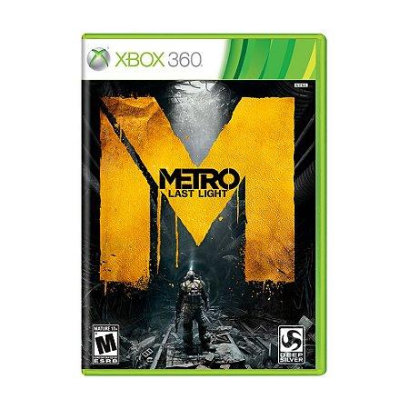 Jogo Metro: Last Light - Xbox 360