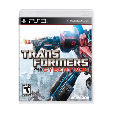 Jogo Transformers: War for Cybertron - PS3