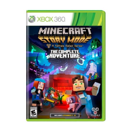 Jogo Minecraft: Story Mode (The Complete Adventure) - Xbox 360
