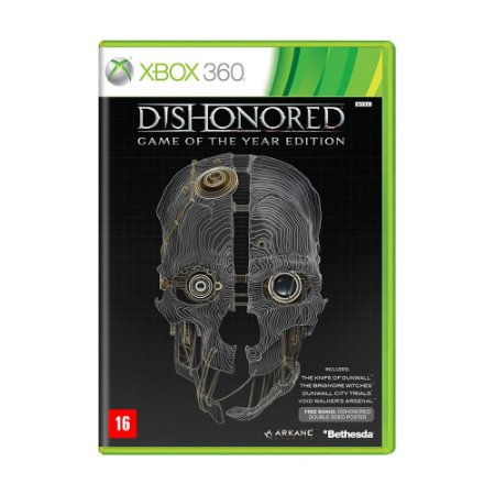 Jogo Dishonored (GOTY) - Xbox 360