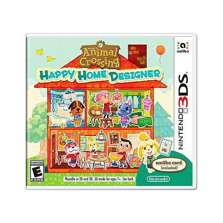 Jogo Animal Crossing: Happy Home Designer - 3DS