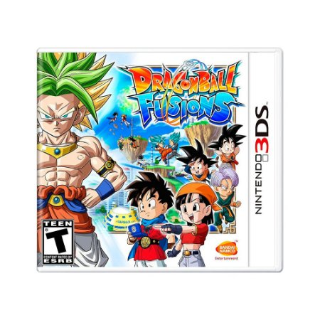 Jogo Dragon Ball Fusions - 3DS