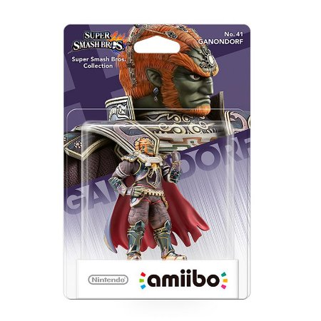 Nintendo Amiibo: Ganondorf - Super Smash Bros - Wii U e New Nintendo 3DS