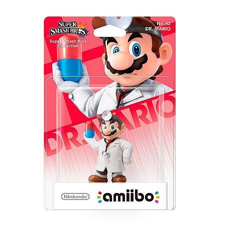 Nintendo Amiibo: Dr. Mario - Super Smash Bros - Wii U e New Nintendo 3DS