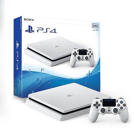 Console PlayStation 4 Slim 500GB Branco - Sony