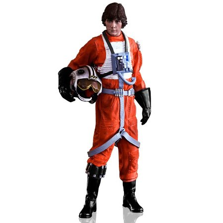 Action Figure Luke Skywalker (X-wing Pilot) - Iron Studios