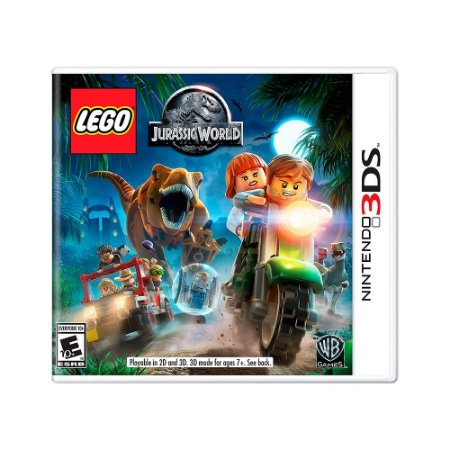 Jogo LEGO Jurassic World - 3DS