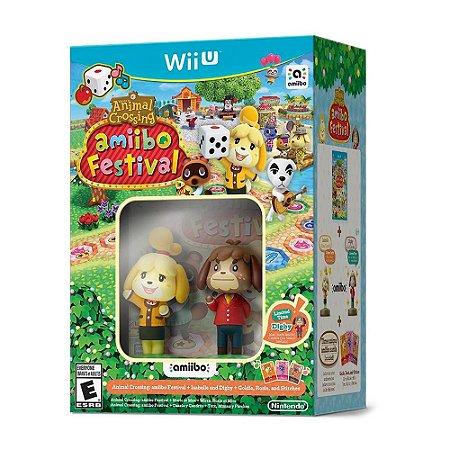 Bundle Animal Crossing: Amiibo Festival + Isabelle e Digby - Wii U