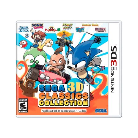 Jogo Sega 3D Classics Collection - 3DS