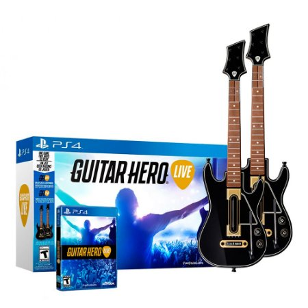 Kit Guitar Hero: Live (2 Guitar Bundle) - PS4