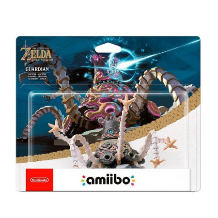 Nintendo Amiibo: Guardian - The Legend of Zelda: Breath of the Wild - Wii U e New Nintendo 3DS