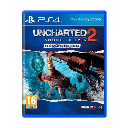 Jogo Uncharted 2: Among Thieves Remastered - PS4