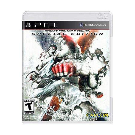 Jogo Street Fighter X Tekken (Special Edition) Apenas Jogo - PS3