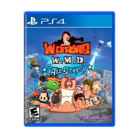 Jogo Worms W.M.D: All-Stars - PS4