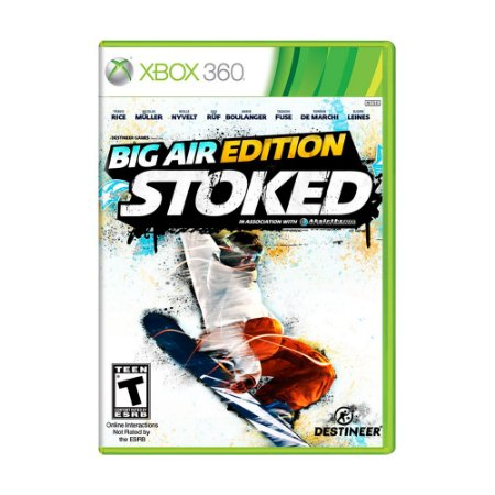 Jogo Big Air Edition: Stoked - Xbox 360