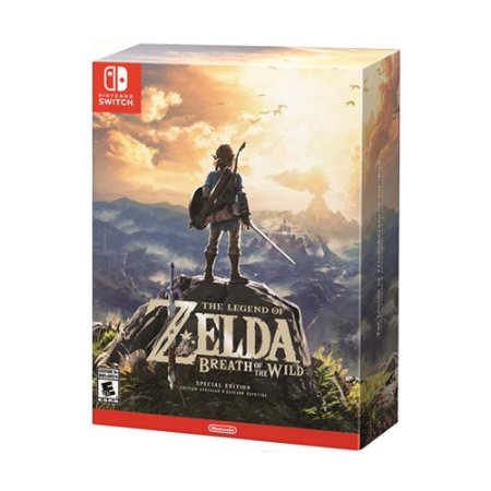 Jogo The Legend of Zelda: Breath of the Wild (Special Edition) - Switch