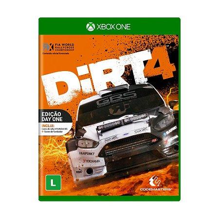 Jogo DiRT 4 (Edição Day One) - Xbox One