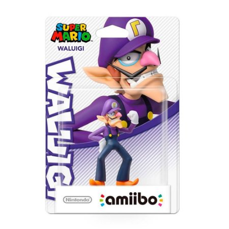 Nintendo Amiibo: Waluigi - Super Mario - Wii U e New Nintendo 3DS