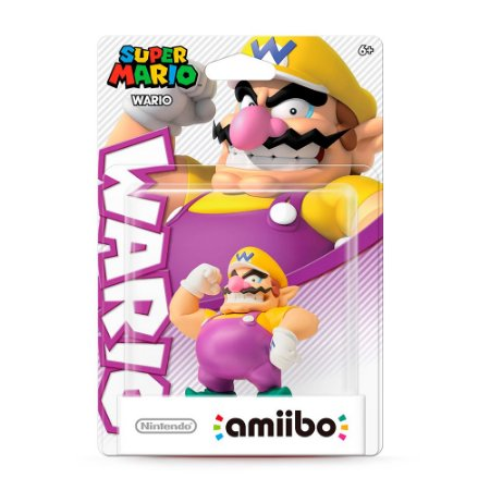 Nintendo Amiibo: Wario - Super Mario - Wii U e New Nintendo 3DS