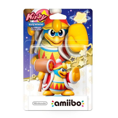 Nintendo Amiibo: King Dedede - Kirby - Wii U e New Nintendo 3DS