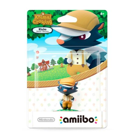 Nintendo Amiibo: Kicks - Animal Crossing - Wii U e New Nintendo 3DS