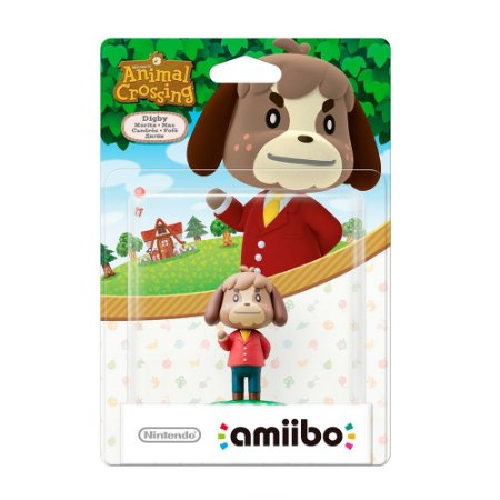 Nintendo Amiibo: Digby - Animal Crossing - Wii U e New Nintendo 3DS