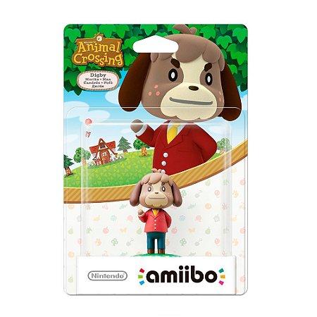 Nintendo Amiibo: Digby - Animal Crossing - Wii U e New Nintendo 3DS