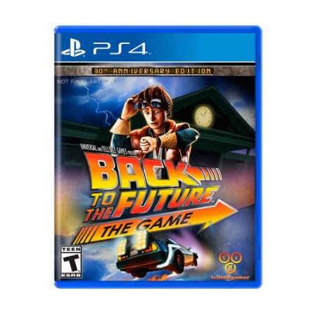 Jogo Back to the Future: The Game - PS4