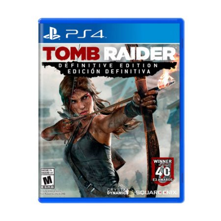 Jogo Tomb Raider (Definitive Edition) - PS4