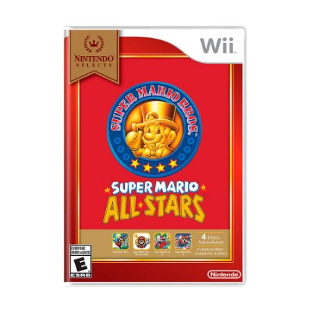 Jogo Super Mario All-Stars - Wii