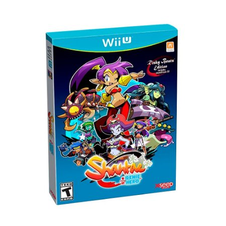 Jogo Shantae 1/2 Genie Hero (Risky Beats Edition) - WII U