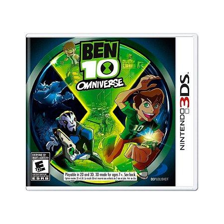 Jogo Ben 10: Omniverse - 3DS