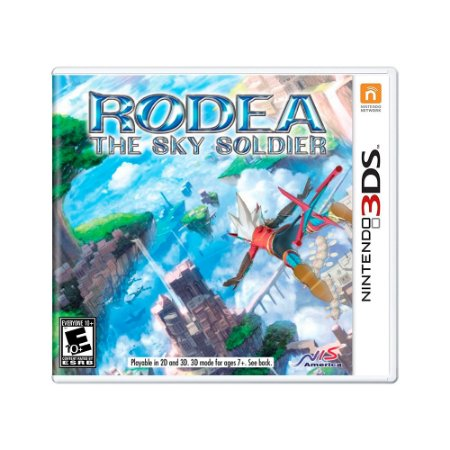 Jogo Rodea the Sky Soldier + Soudtrack - 3DS