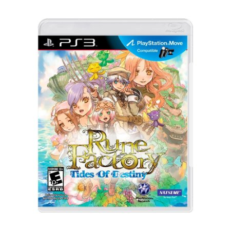 Jogo Rune Factory: Tides of Destiny - PS3