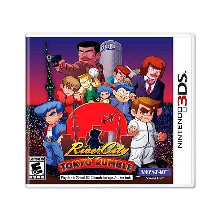 Jogo River City: Tokyo Rumble - 3DS