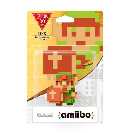 Nintendo Amiibo: Link - The Legend of Zelda 30th - Wii U e New Nintendo 3DS