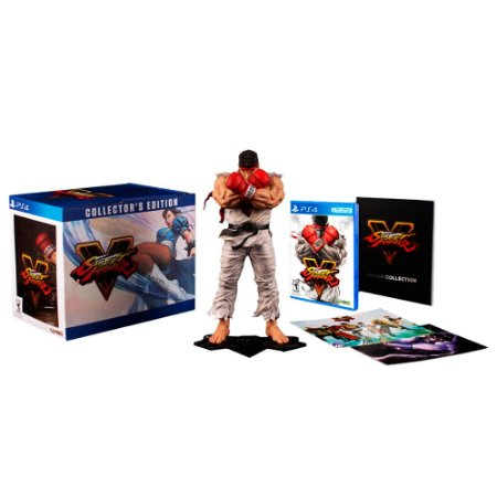Jogo Street Fighter V (Collector's Edition) - PS4