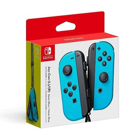Controle Nintendo Joy-Con (Esquerdo e Direito) Azul - Switch