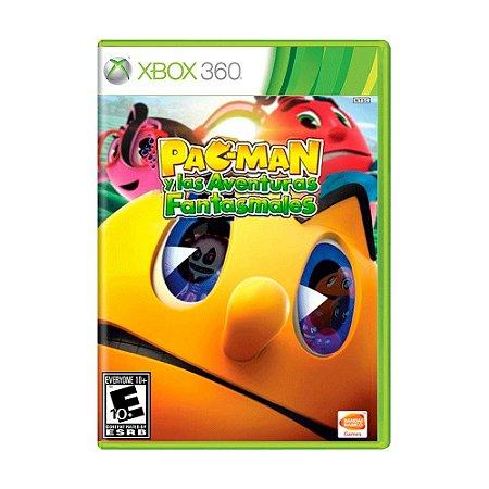 Jogo Pac-Man y Las Aventuras Fantasmales - Xbox 360