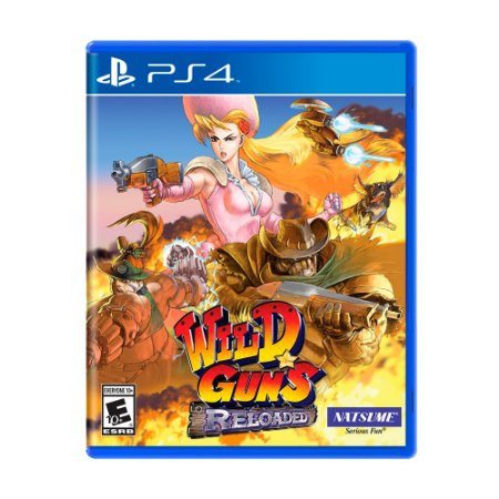 Jogo Wild Guns: Reloaded - PS4