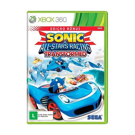 Jogo Sonic & All-Stars Racing Transformed (Edição Bônus) - Xbox 360