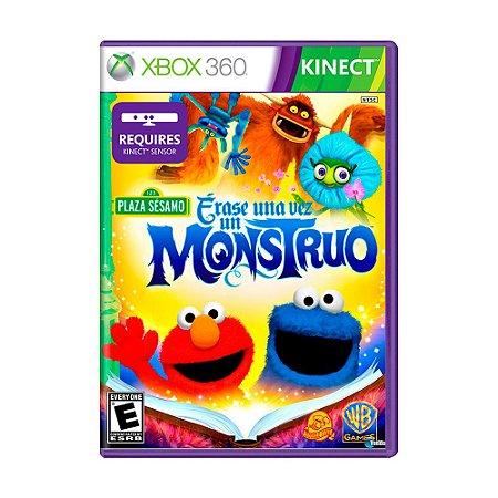 Jogo Plaza Sésamo: Érase Una Vez Un Monstruo - Xbox 360