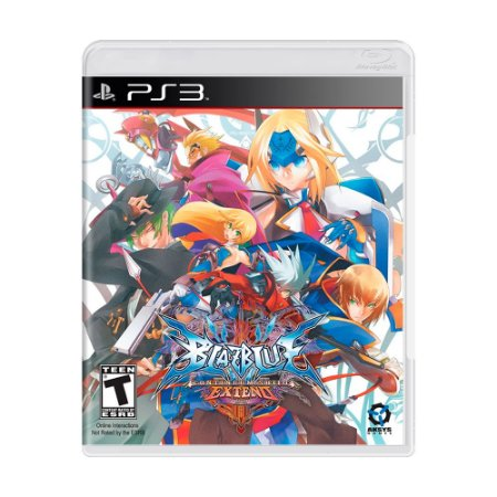 Jogo Blazblue: Continuum Shift Extend - PS3