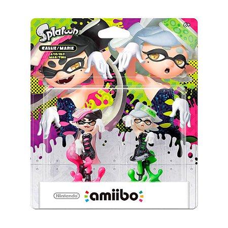 Nintendo Amiibo: Callie e Marie - Splatoon - Wii U e New Nintendo 3DS
