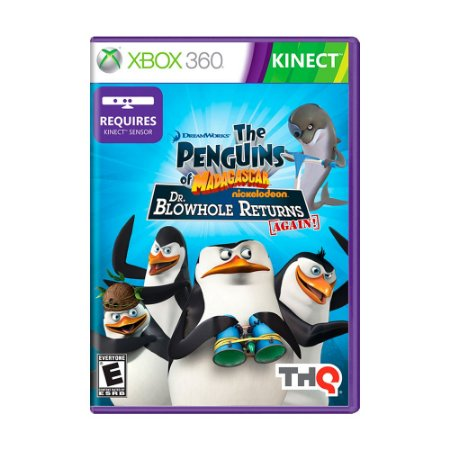 Jogo Penguins of Madagascar: Dr. Blowhole Returns Again! - Xbox 360