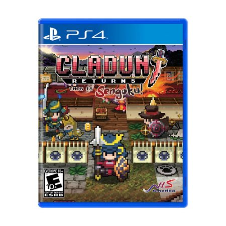 Jogo Cladun Returns: This Is Sengoku! - PS4