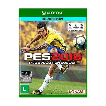 Jogo Pro Evolution Soccer 2018 (Edição Premium) - Xbox One