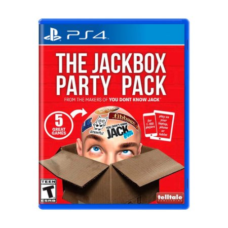 Jogo The Jackbox Party Pack - PS4