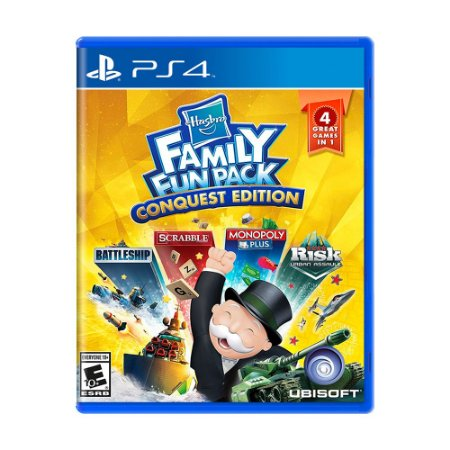 Jogo Hasbro Family Fun Pack (Conquest Edition) - PS4